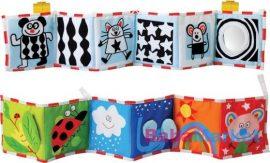 Taf Toys puha bébikönyv Pram book