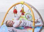 Taf Toys Dzsungel cimborák játszószőnyeg játékhíddal