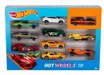 Hot Wheels kisautók (10-es csomag)