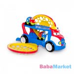 Bright Starts Oball Go Grippers 18 hó+ játék autószállító Grumpy+ 2 autó Dave és Danny