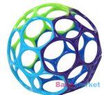 Lyukas készségfejlesztő labda - Oball Kékes Zöld