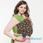 Liliputi babahordozó - rugalmas hordozókendő rosie