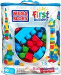 Mega Bloks - 80 db építőkocka táskában