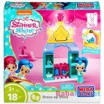 Mega Bloks: Shimmer és Shine gardrób játékszett - Shine