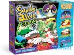 Sands Alive Világító homokgyurma járgányok készlet
