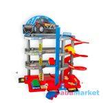 CarGarage: 3 szintes parkolóház autókkal, táblákkal