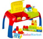 Mochtoys Maxi Blocks Összecsukható építőasztal játékszett