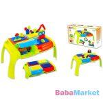 Bloko összecsukható tüskés játékasztal kockákkal