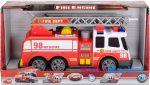 Dickie Toys Nagy létrás tűzoltóautó, fénnyel és hanggal - 36-37cm