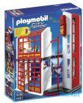 Playmobil - Tűzoltó parancsnokság riasztásjelzővel - 5361
