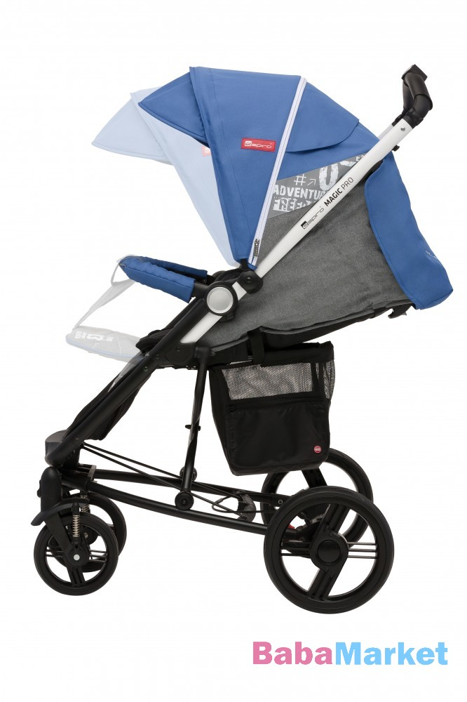 Sport babakocsi nagy kerékkel - Espiro Magic Pro 03 Cobalt 44e90b20a1
