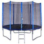 Spartan trambulin védőhálóval - 180 cm-es