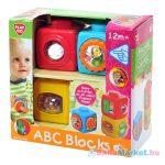 Playgo - ABC kockák készségfejlesztő bébijáték