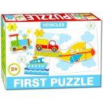 Baby puzzle - járművek
