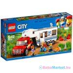 LEGO City: Furgon és lakókocsi 60182