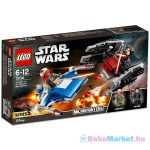 LEGO Star Wars: A-szárnyú vs. TIE Silencer Microfighters 75196