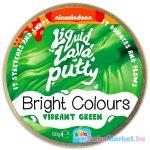 Intelligens putty gyurma: élénk színek - zöld