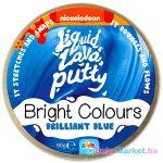Intelligens putty gyurma: élénk színek - kék