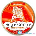 Intelligens putty gyurma: élénk színek - narancs