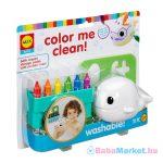 Fürdőjáték Bálna - Színezhető Babáknak és Gyerekeknek