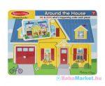 Hangos Puzzle - Melissa & Doug - A Ház Körül