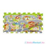Trefl - Habszivacs puzzle játszószőnyeg - Városi Móka