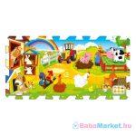 Habszivacs puzzle játszószőnyeg - Farm Móka