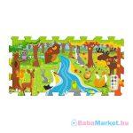 Habszivacs puzzle játszószőnyeg - erdei móka