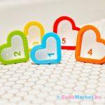 Munchkin fürdőjáték - Hearts / Szív alakú poharak (5db)