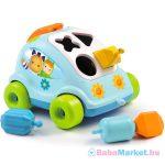 Cotoons: formaválogató autó, kék