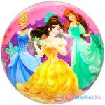 Disney hercegnők gumilabda - 23 cm-es