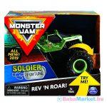 Monster Jam: Soldier Fortune hátrahúzhatós kisautó