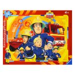 Ravensburger: Sam, a tűzoltó 33 darabos keretes puzzle