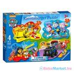 Ravensburger: Mancs őrjárat 4 az 1-ben puzzle nagyméretű darabkákkal