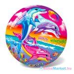 Delfin mintás gumilabda - 23 cm