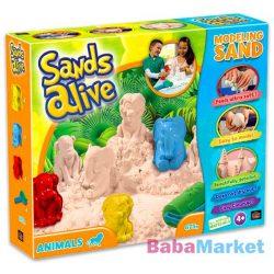 Sands Alive: modellező homok - állatok, 675 g