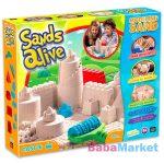 homokgyurma - Sands Alive modellező homok - kastély