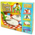 Sands Alive: modellező homok - pizza party, 675 g