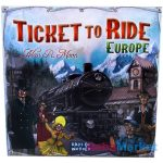 Ticket to Ride Europe - vasúti társasjáték