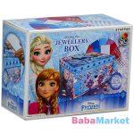 Disney hercegnők: Jégvarázs díszíthető ékszerdoboz kreatív szett