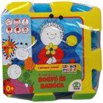 játszószőnyeg - habszivacs puzzle - bogyó és babóca