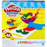 Play-Doh Kitchen Creations: 6 darabos vágódeszka gyurma szett