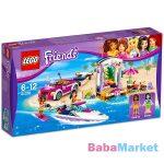 LEGO Friends: Andrea versenymotorcsónak szállítója 41316