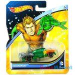 Hot Wheels DC karakter kisautók: Aquaman