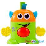 fisher price játékok - mini szörny zöld