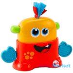 fisher price játékok - mini szörny piros
