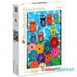 Clementoni: baglyok 500 darabos puzzle