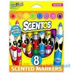 Scentos: Illatos 8 darabos filctoll - neon színek