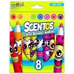 Scentos: Illatos 8 darabos filctoll - élénk színek