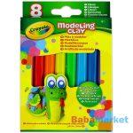 Crayola gyurma 8 db klasszikus színek